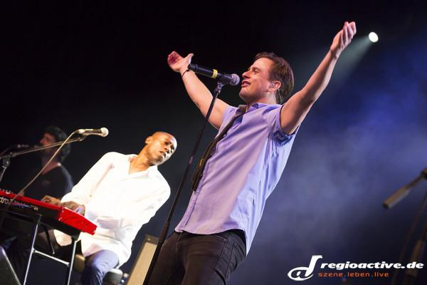 Neue Energie - Fotos: Mike & The Mechanics live in der Frankfurter Batschkapp