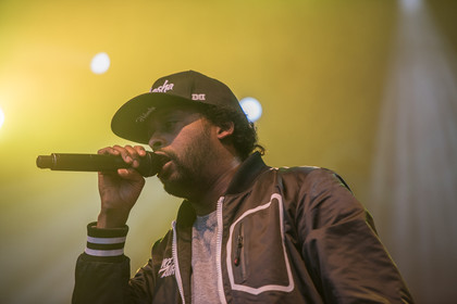 Hands up! - Fotos: Afrob live auf dem Schlossgrabenfest 2015 in Darmstadt